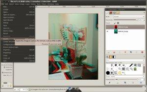 Exportando a imagem pronta